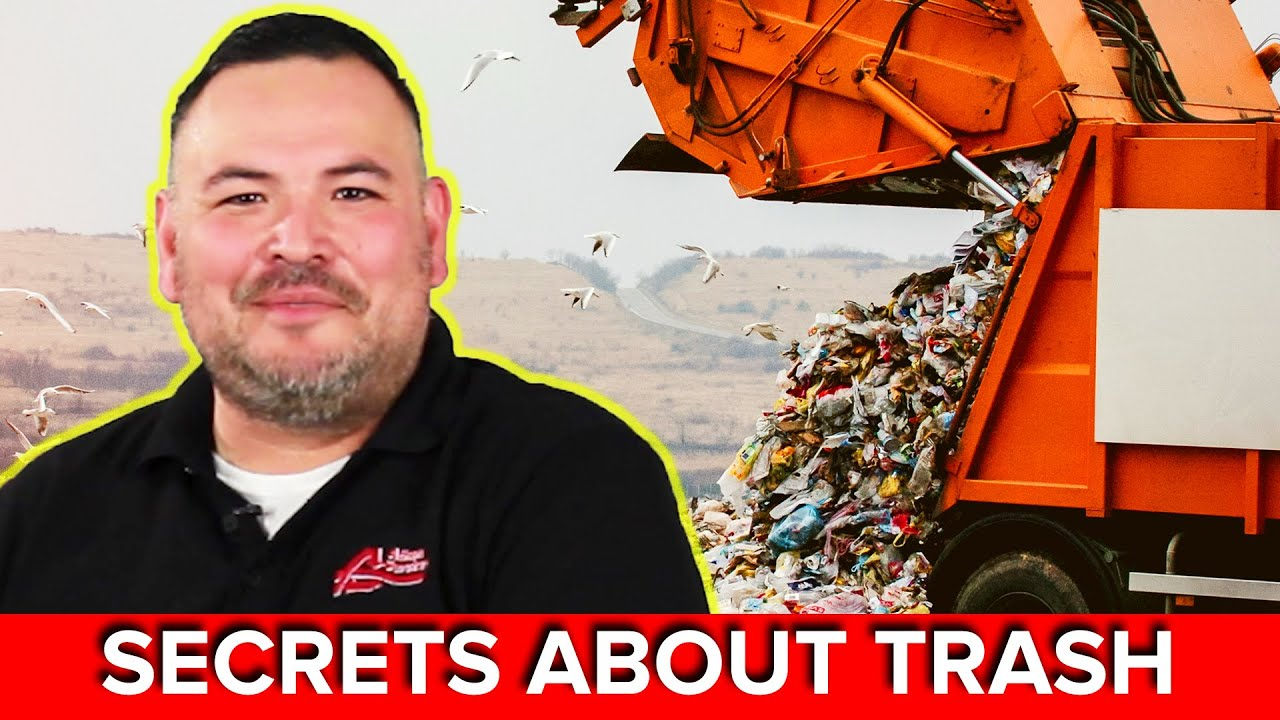 A Garbage Man Reveals Secrets About Your Trash thumbnail