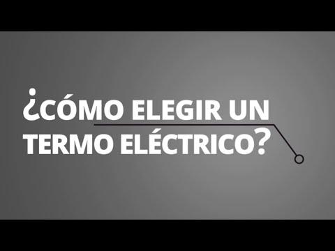 Cómo elegir un termo eléctrico