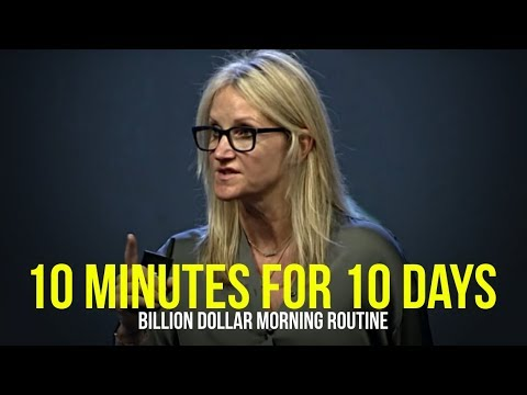 Billionaires Do This For 10 Minutes Every Morning