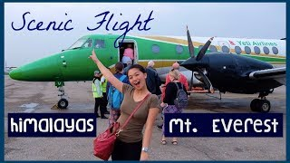 Flying Over Mt Everest and Himalayas | Yeti Airlines