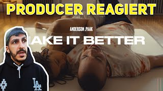 Producer REAGIERT Auf Anderson .Paak   Make It Better (ft. Smokey Robinson) (Official Video)