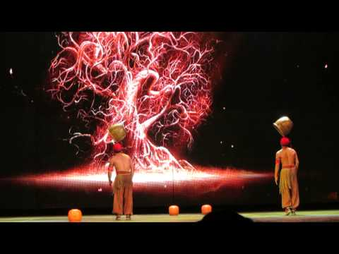 Acrobatic Show - The Chaoyang Theatre, Beijing - Buckets