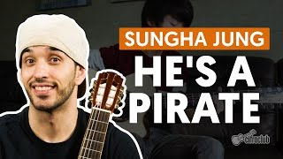 He's a Pirate - Sungha Jung (aula de violão)