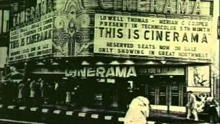 Fred Waller's Vitarama from 1939 World's Fair becomes Cinerama.