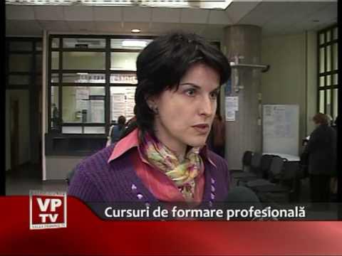 Cursuri de formare profesionala