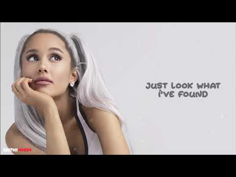 Ariana Grande - Thank You, Next ( Lyrics Video ) (видео)