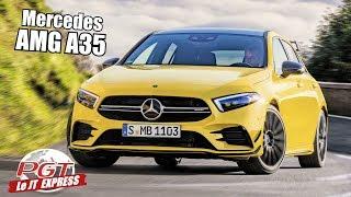 Mercedes-AMG A35 : Audi S3 & Golf R dans le viseur ! - PJT Express