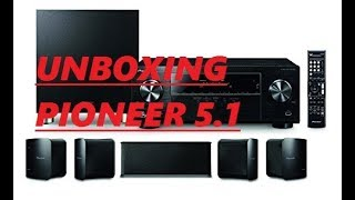 Unboxing Pioneer HTP-074 Home Theater System