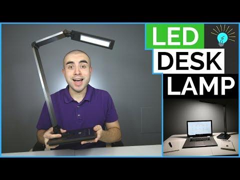 LE Dimmable LED Desk Lamp Review: Sleek LED Desk Lighting
