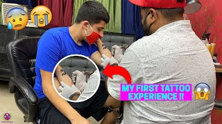 MY FIRST TATTOO EXPERIENCE !! 😱😱😱