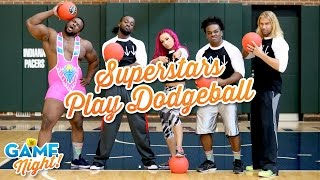 WWE Superstars play dodgeball: WWE Game Night