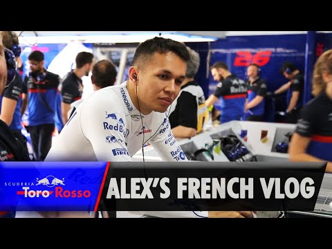 F1 2019: Alex Albon's French GP Vlog