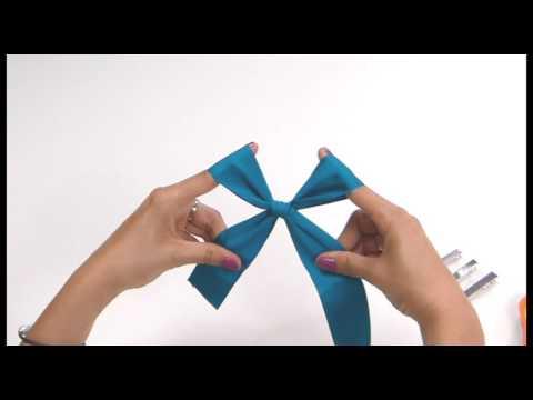 afae8bc0 Lindos lazos para las niñas! | Manualidades