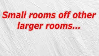 Small Rooms Off Other Larger Rooms (CodyCross Crossword Answer)