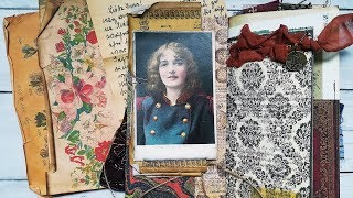 Diary Of Jane Vintage Junk Journal - The Graphics Fairy DT Project