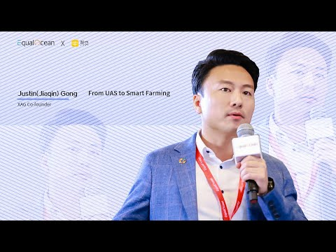 2019 GNEC - XAG Co-founder & CMO, Justin(Jiaqin) Gong