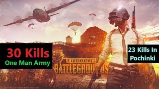 "[Hindi] PUBG Mobile | ""23 Kills"" In Pochinki & Sad Ending"