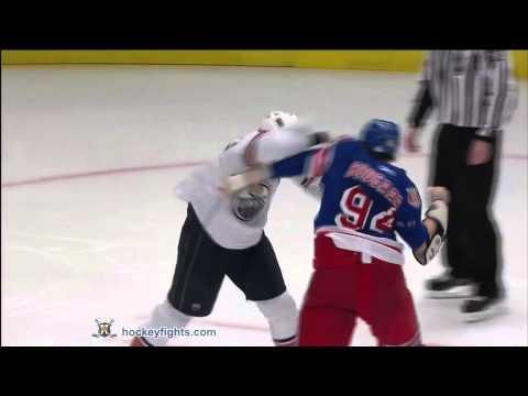 Derek Boogaard vs. Steve MacIntyre