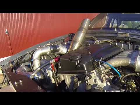Mercedes W124 OM606 Turbosystems HTX40 - смотреть онлайн на Hah Life