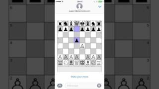 Classic Games 1.0 (Chess TicTacToe) for iMessage on iOS 10