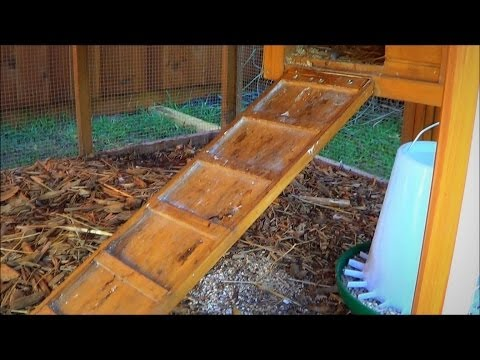 , title : 'Make a Chicken Coop Ladder Adjustable with a Piano Hinge