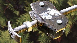 НЕ выбрасывайте тормозные колодки!!! Крутая идея для самоделки СВОИМИ РУКАМИ!