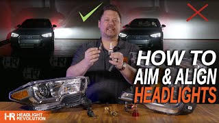 How to Aim and Align Your Headlights