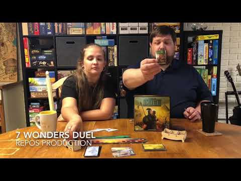 Pounds and Inches: 410 and 157, 7 Wonders Duel