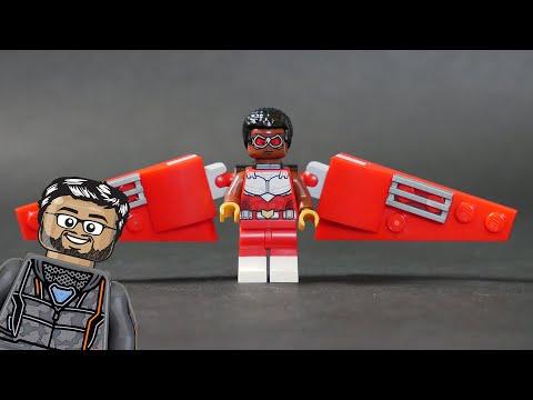 Vidéo LEGO Marvel 40418 : Le Faucon et Black Widow s'unissent