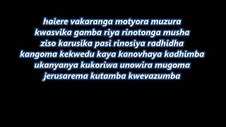 Kutonga Kwaro By Jah Prayzah Lyrics