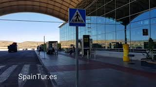 Как доехать на автобусе из аэропорта Аликанте-Эльче в город Alicante, Торревьеху, Бенидорм и т.д.