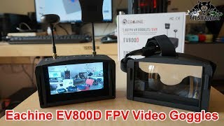 Eachine EV800D 5 Inch LCD Diversity FPV Video Goggles with DVR