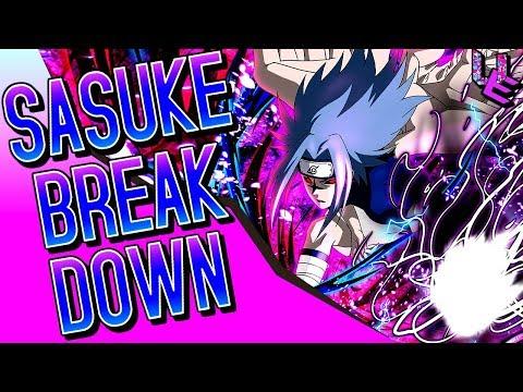 Naruto Blazing Sasuke Parting Wings Blazing Awakening