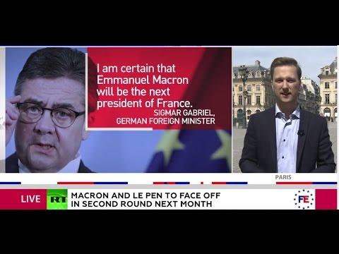 'Hope of EU' vs. 'nightmare'? European elites flock to praise Macron, some call for Le Pen's defeat