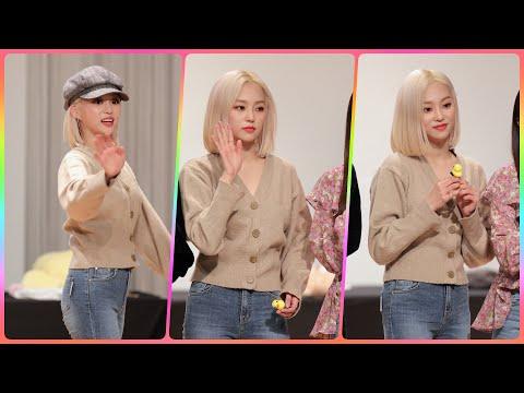 [4K] CLC 예은 직캠 (Crystal Clear) - 팬사인회 마무리인사 @팬사인회/190202/Fan…