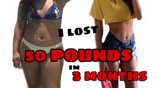 how to LOSE WEIGHT FAST (AT HOME) workout and diet plan