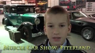 Muscle Car Show. Piterland. Radodar TV. 04.09.16