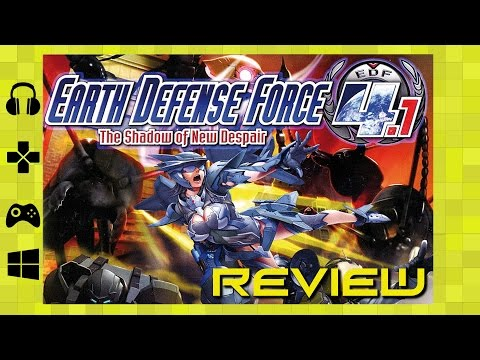Earth Defense Force 4.1 Review video thumbnail