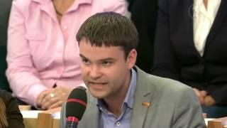 Денис Ганич на Первом канале