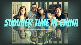 preview picture of video 'Summer | Dawn Festival | Dalian Bay | BBQ Fire | Wheelee's Travels'