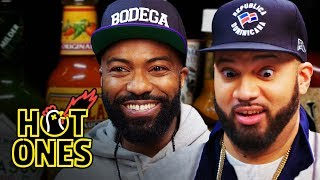 Hot Ones - Desus and Mero Get Smacked By Spicy Wings