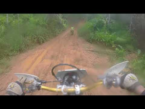 Trilha de moto em biguaçu