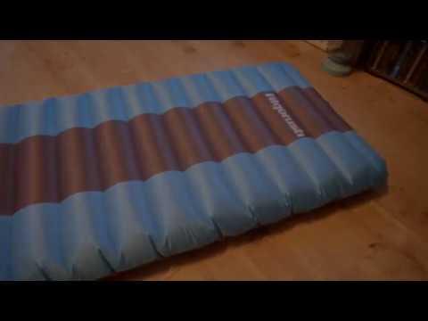 Review - Aufblasbare Camping Isomatte von Fitgorush