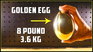 Casting a Mirror Polished Golden Egg (Brass) - Video Youtube