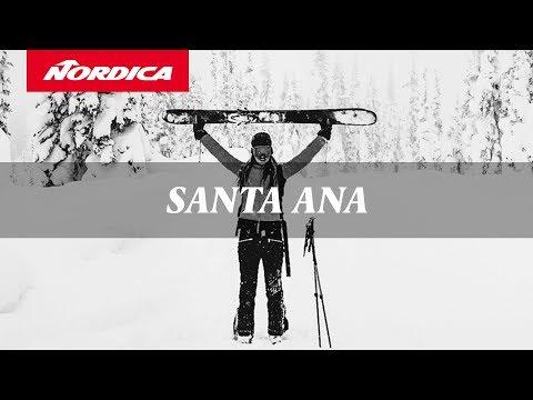 Nordica Santa Ana 100 Skis - Women's