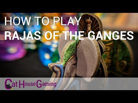 How to Play - Rajas of the Ganges