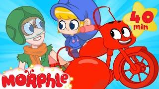 Morphle The Motorbike - My Magic Pet Morphle   Cartoons For Kids   Morphle TV   Mila & Morphle