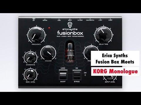 ERICA SYNTHS Fusionbox Efektový procesor