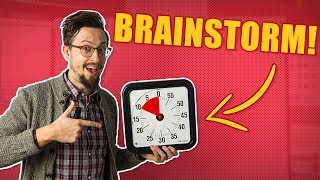 The Ultimate Brainstorming Exercise! (10 Minutes Long)