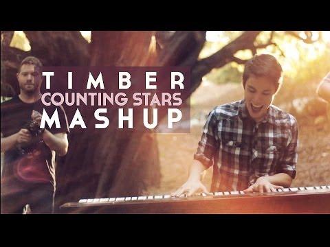 Timber Counting Stars Mashup Kehaonerepublic Sam Tsui Chords